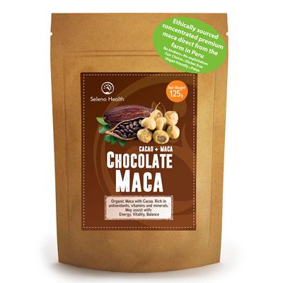 Seleno Health Fair Choice Organic  Chocolate Maca 125g
