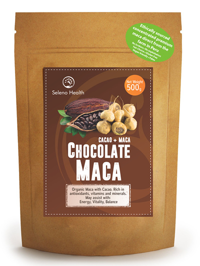Seleno Health Fair Choice Organic Chocolate Maca 500g