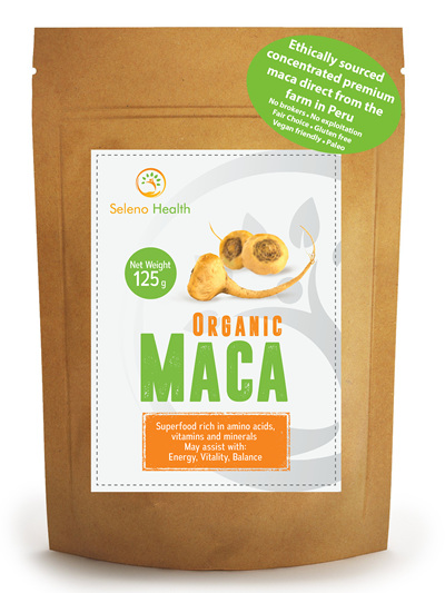 Seleno Health Fair Choice Organic Maca 125g