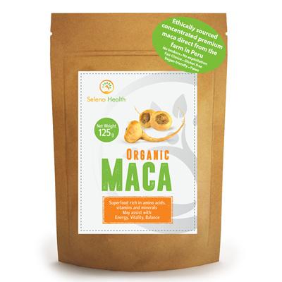 Seleno Health Fair Choice Organic Maca 125g
