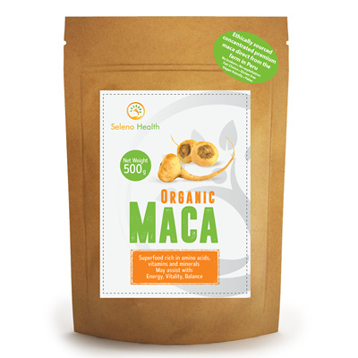 Seleno Health Fair Choice Organic Maca 500g