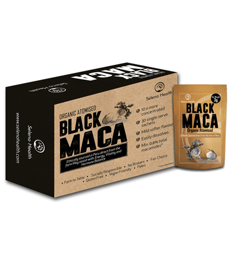 Seleno Health - Maca Atomised Black Sachets