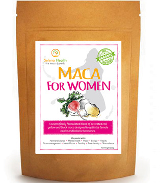 Seleno Health Maca for Women (loose powder & vegan caps)
