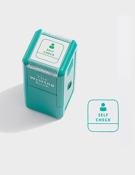 Self Check Self-inking Stamp