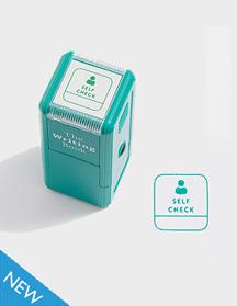 Self Check Self-inking Stamp