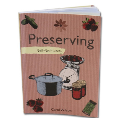 Self Sufficiency - Preserving Book