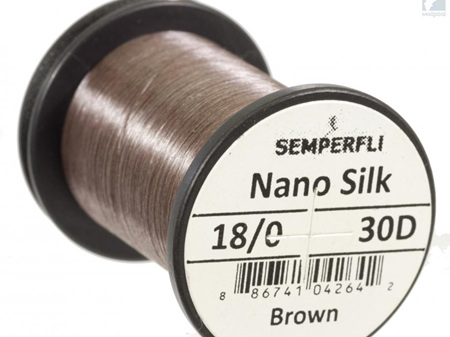 Semper Fli Nano Silk 30 denier 18/0 Thread