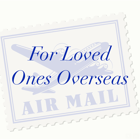 Sending Overseas