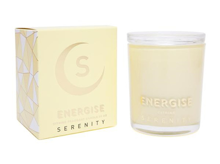 Serenity Candle - Energise - Citrine