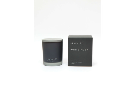 SERENITY WHITE MUSK CANDLE