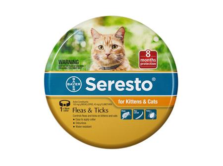 Seresto® Flea & Tick Collar for Kittens & Cats