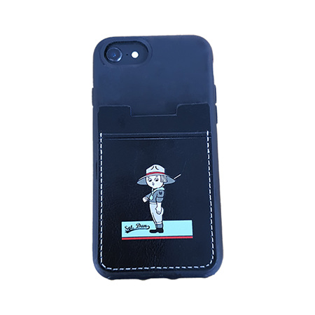 Sergeant Dan  Phone Stick On  Card Holder