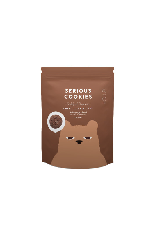 Serious Cookies Double Chocolate Chip 170g