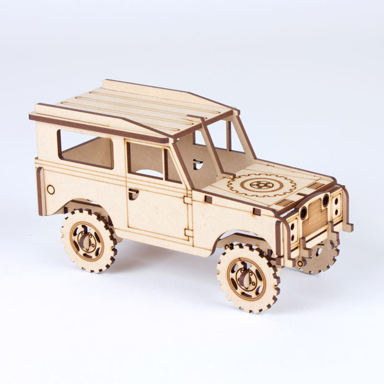 serries 2 landrover puzzle