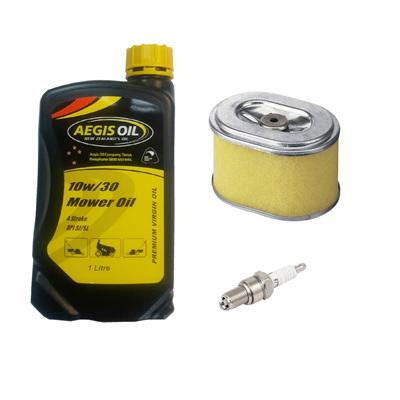 Service Kit for Honda and clone GX140, GX160, GX200 Engines - NZ Made Oil
