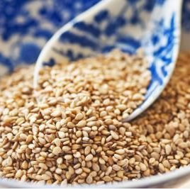 Sesame Seeds Unhulled Organic Approx 100g