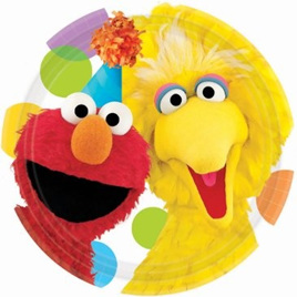 Sesame Street Small Party plates