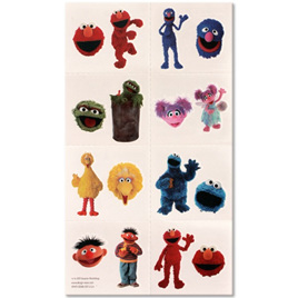 Sesame Street - Tattoos