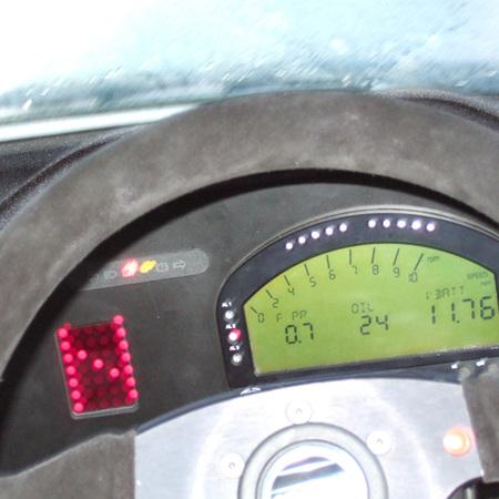Setting up an Aim dash fuel sensor