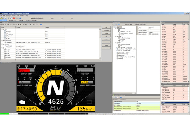 setup using Windows software