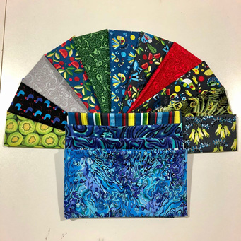Sew Along 2018 Coloured fabric only