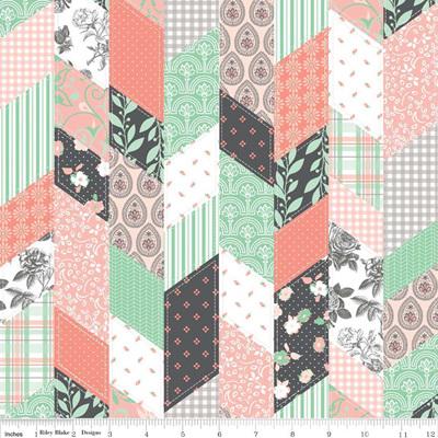 Sew Charming - Designer Cloth Coral