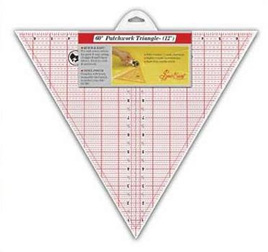 Sew Easy 60 degree triangle ruler