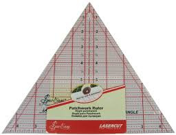 Sew Easy 60 degree triangle ruler 8 inch NL4174