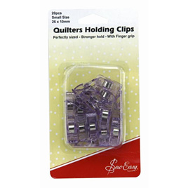 Sew Easy Quilters Holding Clips 20 pack