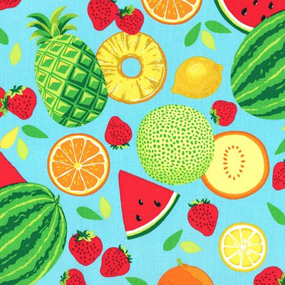 Sew Fruity - Fruit Toss Green