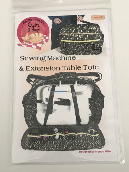 Sewing Machine & Extension Table Tote from Among Brenda's Quilts & Bags