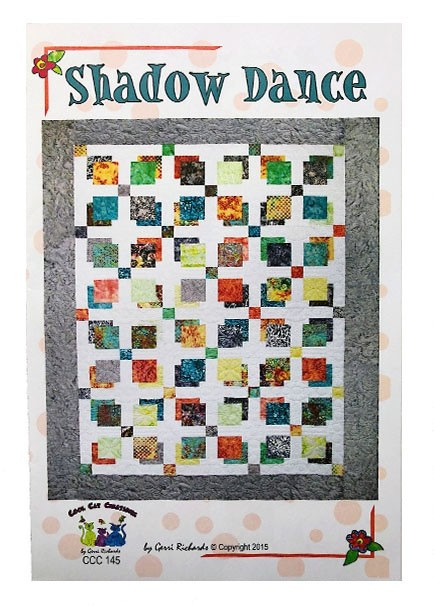 Shadow Dance Quilt Pattern from Cool Cat Creations