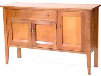 Cirrus Sideboard - Three Doors & Drawer