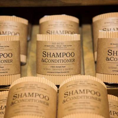 Shampoo & Conditioner Bar Set
