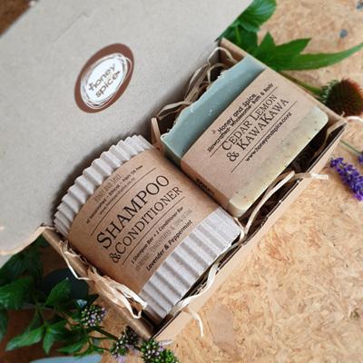 Shampoo & Soap Gift Box