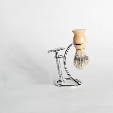 Shaving Set - Stand, Brush, Razor