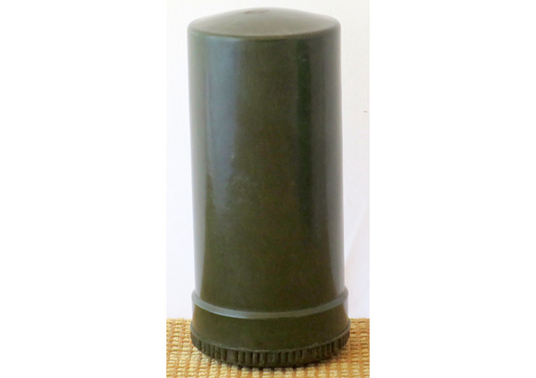 Shaving stick container