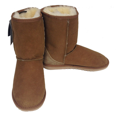 Sheepskin Mid Calf Boots