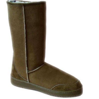 Sheepskin Three Quarter Boots