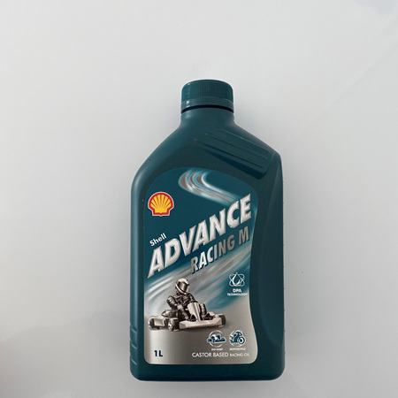 SHELL M ADVANCE RACING CASTOR/SYNTHETIC 1 LTR