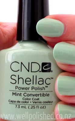 Shellac Mint Convertible