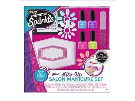 Shimmer 7 Sparkle Salon Manicare Set