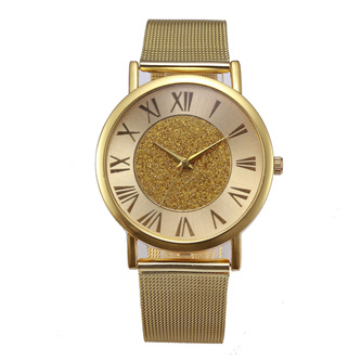 Shimmer Luxury Watch - Gold