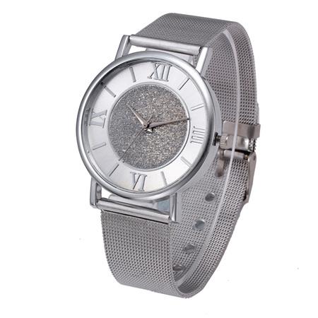Shimmer Luxury Watch - Silver