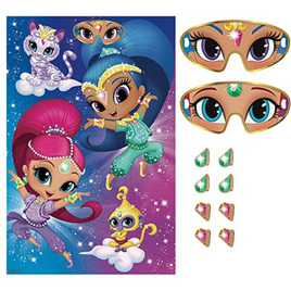 Shimmer Shine Kingfisher Gifts Party Xmas