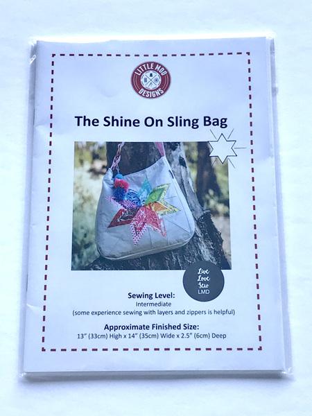 Shine On Sling Bag Pattern