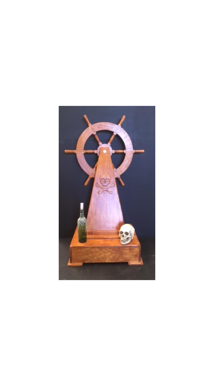 ship wheel, pirate prop, nautical prop, ship helm prop
