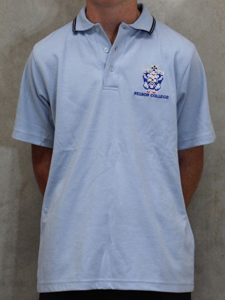 Shirt- Blue Polo