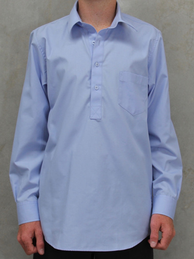 Shirt- Milton blue