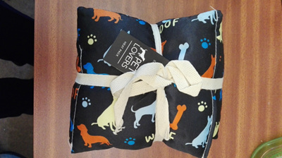 Shivachi Pet Lovers Heat Pack Dog Pattern